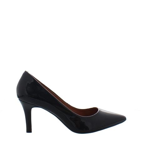 Quorra Black Court Shoes