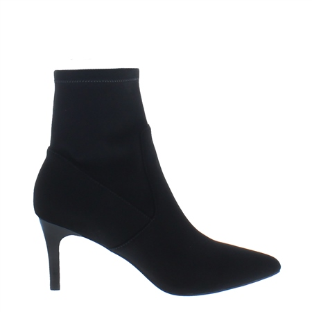 Tunella Black Sock Ankle Boots