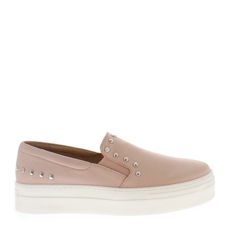 Petra Rose Leather Trainers 1
