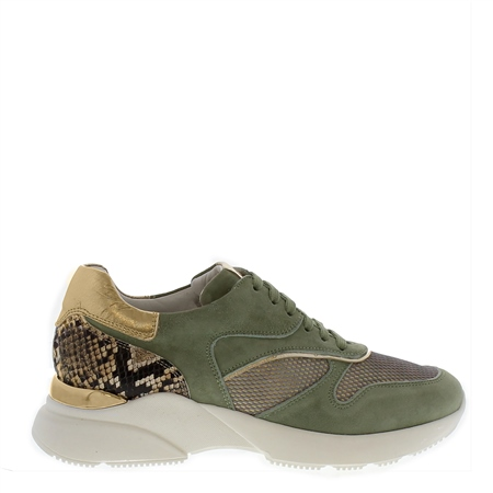 Aria Khaki Chunky Trainers  - Click to view a larger image
