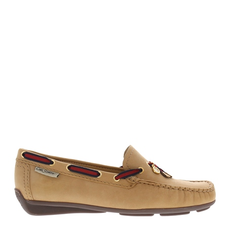 Faris Beige Slip-on Loafers  - Click to view a larger image