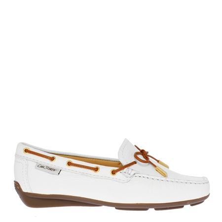 Misha White Leather Loafer  - Click to view a larger image