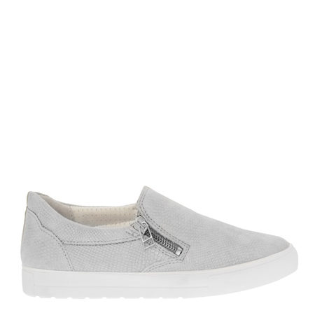 Orsa Ice White Slip-On Trainers
