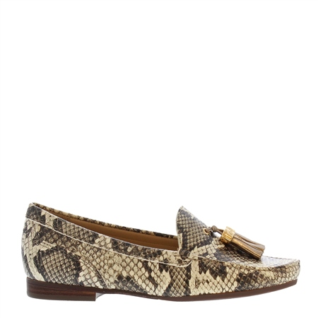 Fallon Snake Print Loafers  - Click to view a larger image