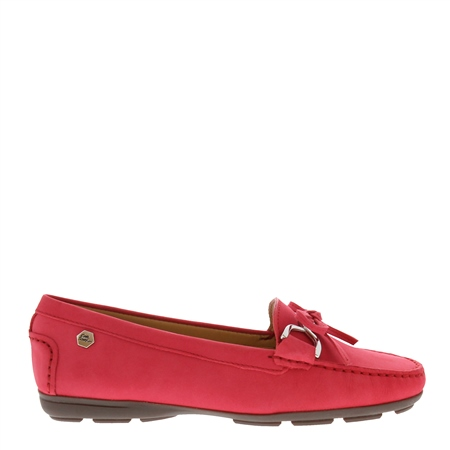 Harper Pink Suede Loafers  - Click to view a larger image