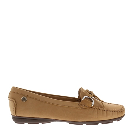 Harper Sand Suede Loafers  - Click to view a larger image