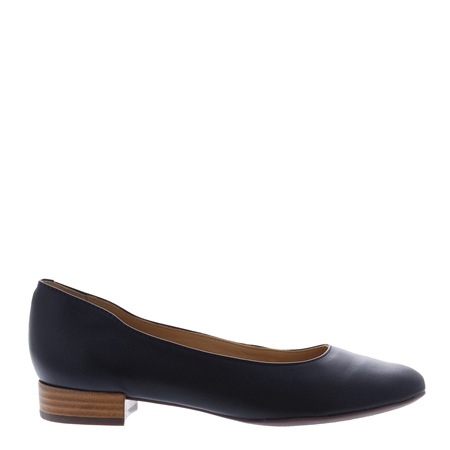 Leonie Navy Ballet Flats  - Click to view a larger image