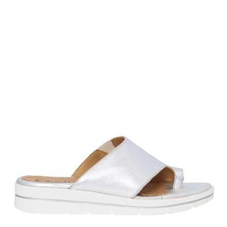 Orlinda Silver Sandals