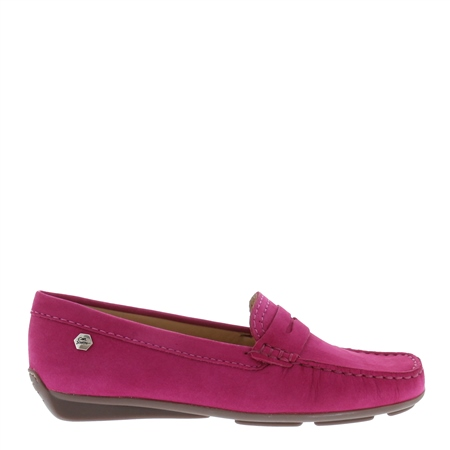 Bettina Fuschia Loafers