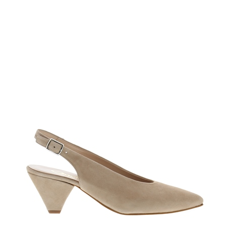 Dolce Beige Court Shoes  - Click to view a larger image