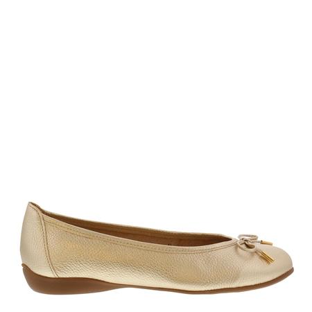 Hosanna Gold Ballet Flats