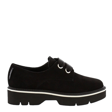 Nevada Black Suede Shoes  - Click to view a larger image