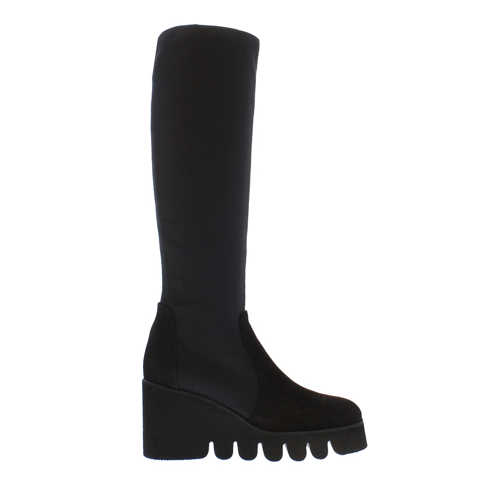 Massima Black Wave Sole Boots 1