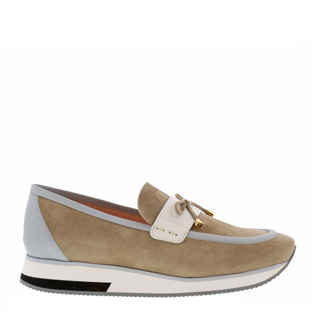 Beth Grey Loafers 1